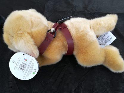 Perro Guia marron de peluche